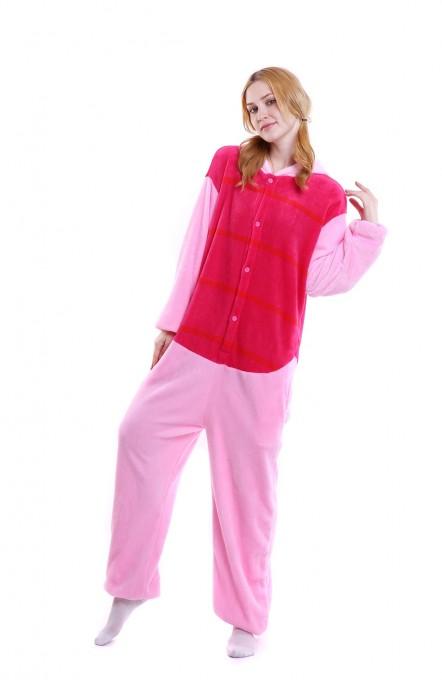 Unisex kigurumi Pink Red Piglet onesies animal pajamas