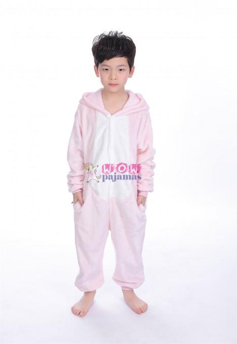 Pink Pig animal kigurumi onesie pajamas for kids