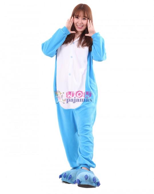 Blue Dinosaur Onesie Animal Pajamas For Women & Men