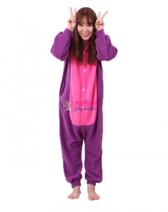 Purple Dinosaur Onesie Animal Pajamas For Women & Men