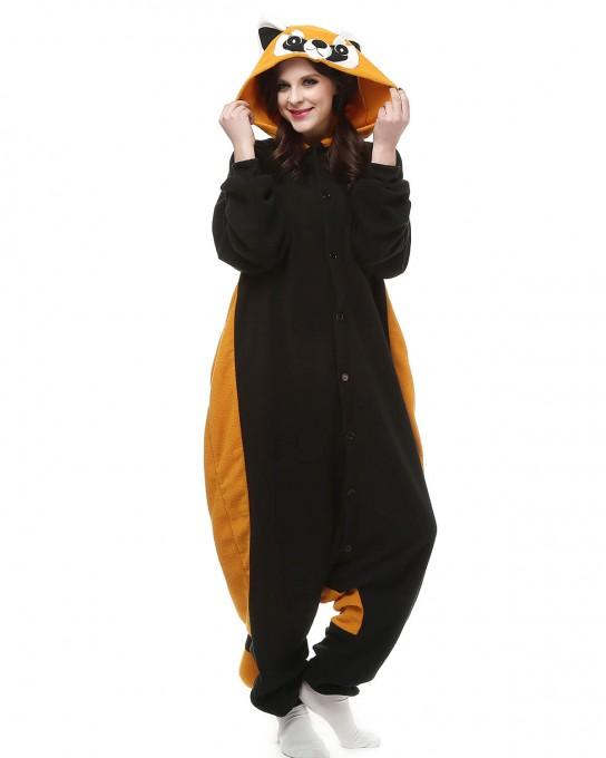 Raccoon Kigurumi Onesie Pajama Animal Pajama For Adult