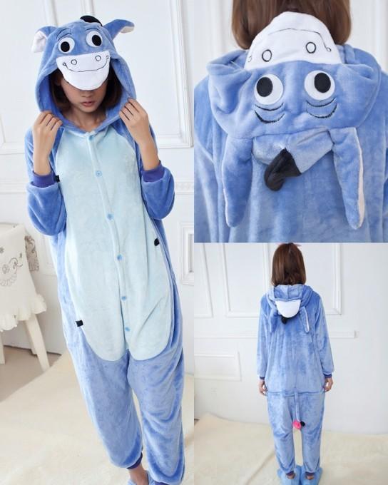 Kigurumi Winnie the pooh Eeyore Onesies Pajamas