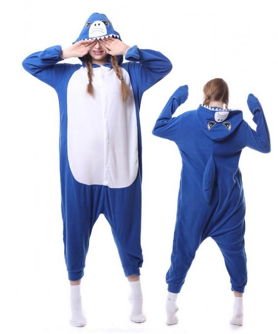 Shark Onesie Pajama Animal Onesie Pajamas For Women & Men