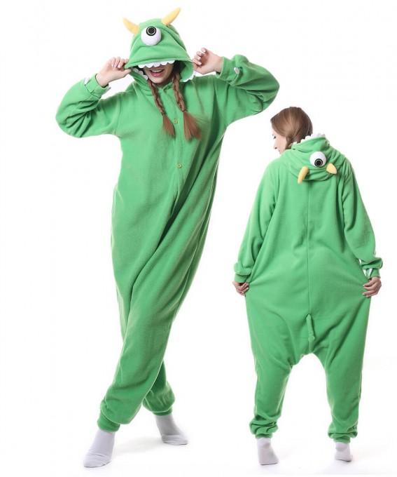 Eyed Monster Onesie Pajama Unisex Animal Onesie Pajama