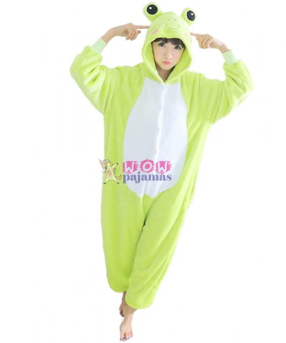 Kigurumi Frog Onesie Pajamas Animal Onesies for Women & Men