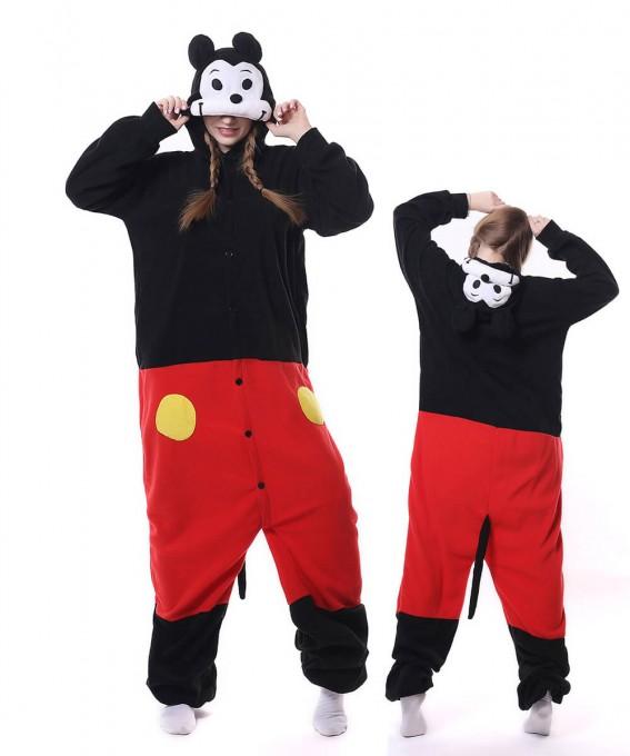 Mickey Onesie Pajama Animal Onesie Pajama For Adult
