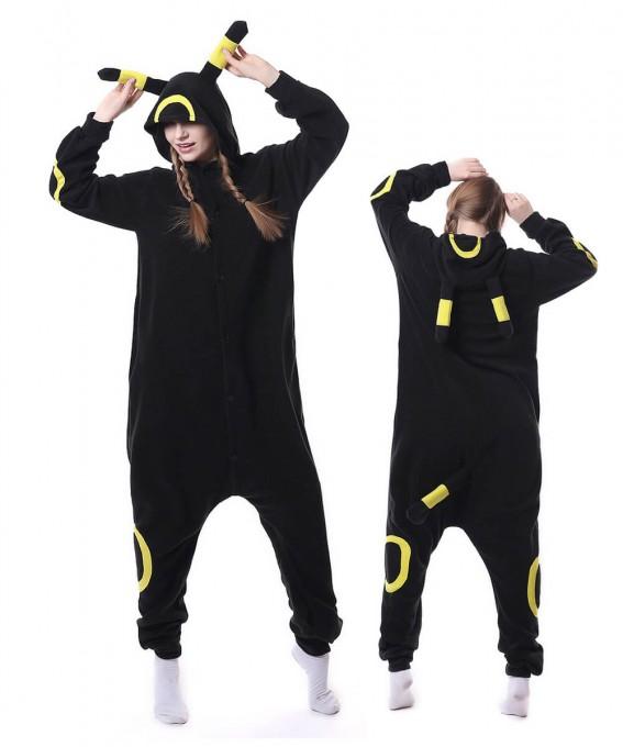 Unisex Pokemon Yellow Monster Onesie Pajama Animal Costumes