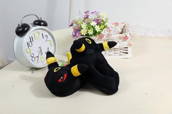 Black elves slippers Kigurumi Onesies Pajamas Warm Plush Shoes