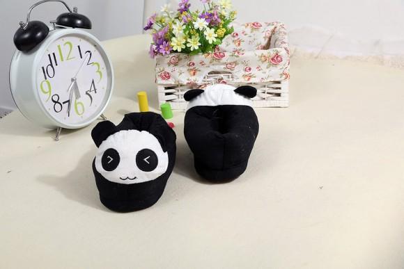 Panda Animal Onesies Kigurumi slippers Adult Plush Shoes