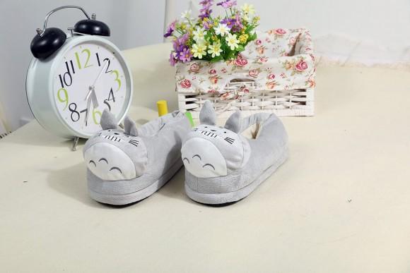 Totoro slippers Kigurumi Onesies Pajamas Warm Plush Shoes