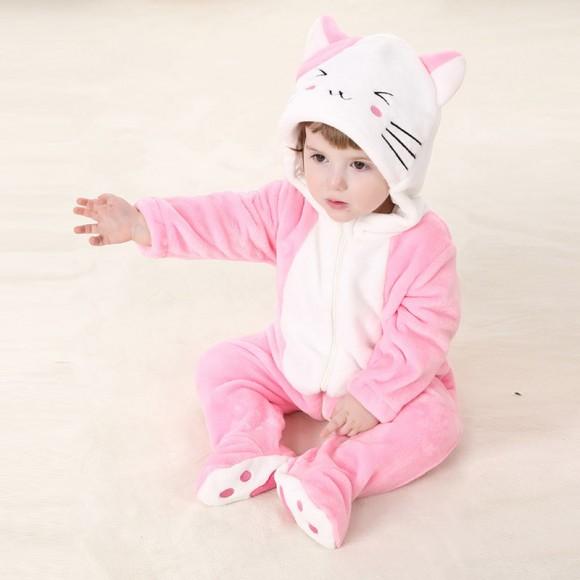 Baby Bunny Rabbit Kigurumi Onesie Pajamas Animal Onesies Costume