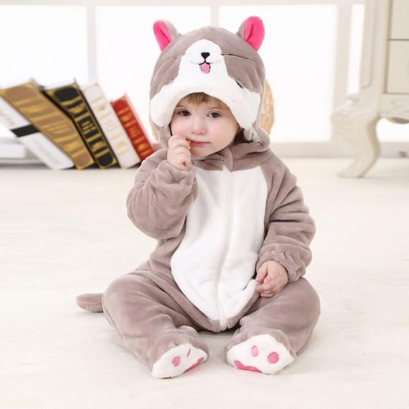 Baby Chi's Sweet Home Chi the Cat Onesie Pajamas Animal Costume