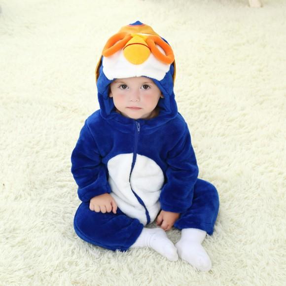 Baby Pororo the Little Penguin Kigurumi Onesie Pajamas Animal Costume