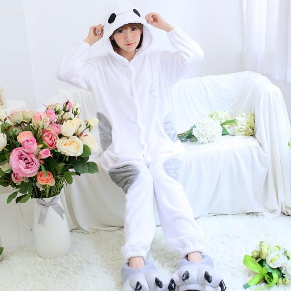 Kigurumi Big Hero Baymax Pajamas Animal Onesies Costume