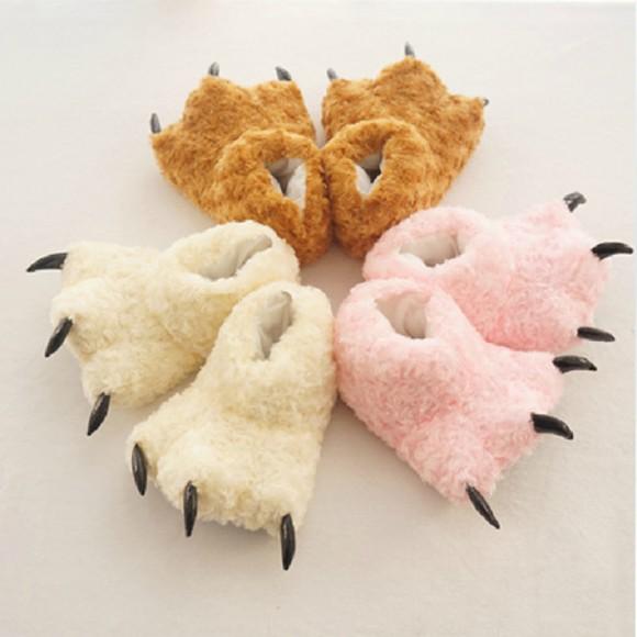 Colorful Animal Onesies Kigurumi Plush slippers shoes