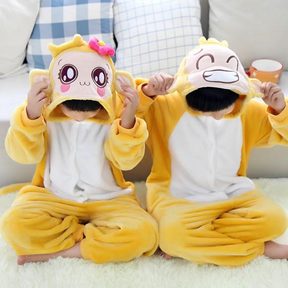 Cute monkey Animal Kigurumi Onesie Pajamas for Kids