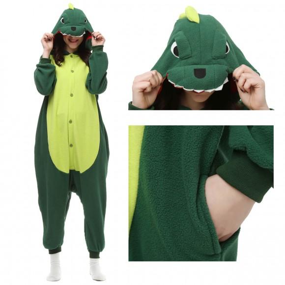 Dinosaur Onesie animal pajamas for Women & Men