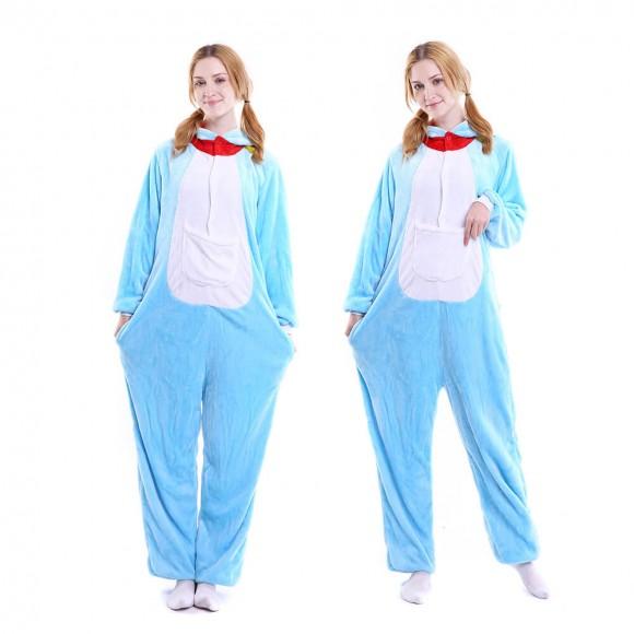 Doraemon Onesie Pajamas Animal Costumes For Women & Men