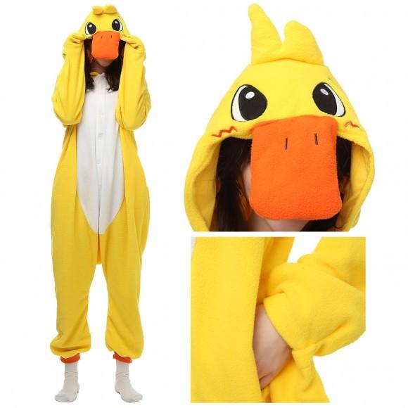 Duck Kigurumi Onesie Unisex Animal Onesie Pajama