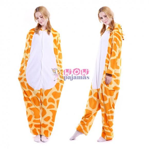 Giraffe Onesie Animal Pajamas For Women & Men