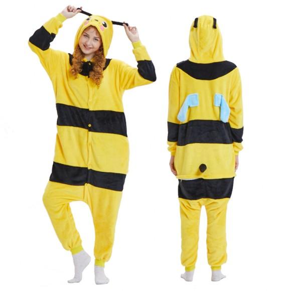 Honeybee Onesie Unisex Animal Onesie Pajama