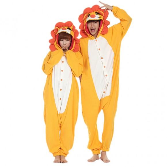 Lion Onesie for Adult Animal Onesies Pajama