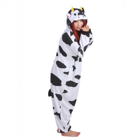 Milk Cow Onesie Unisex Animal Onesie Pajama