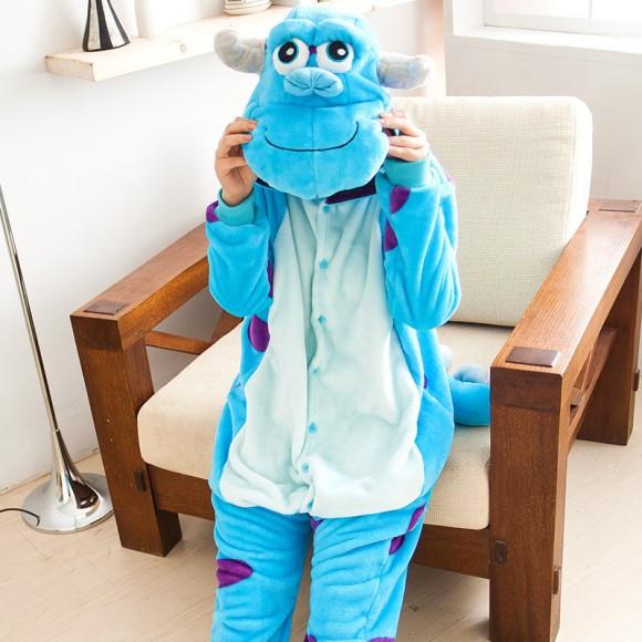 Kigurumi Monsters University James P. Sullivan Onesies Pajamas