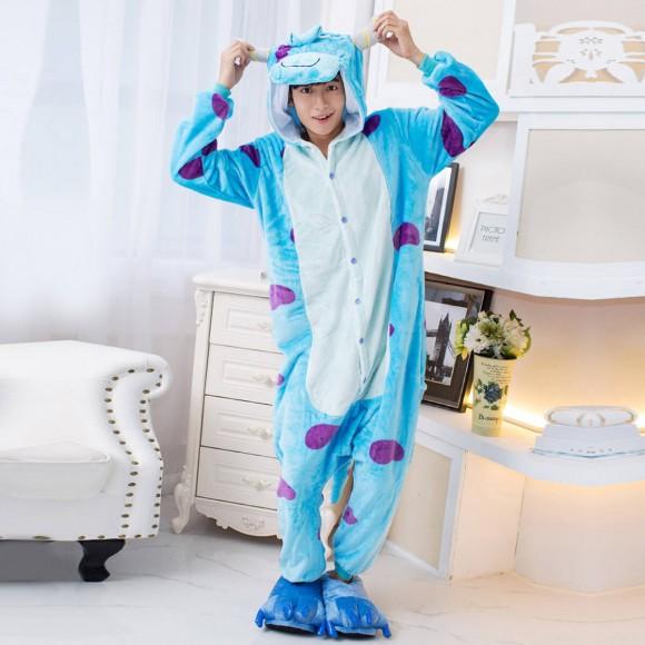 Monsters University Sulley Onesie Pajamas