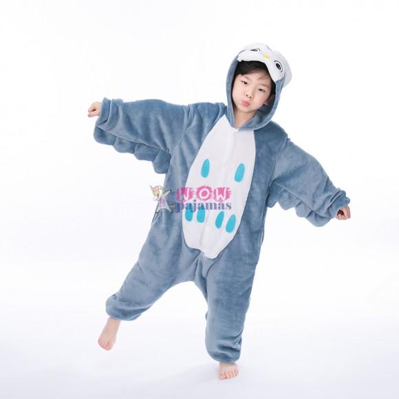 Owl Onesie animal pajamas for kids