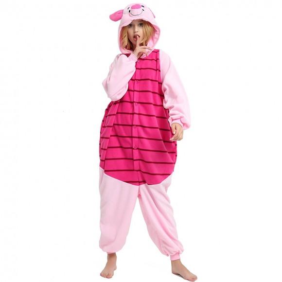 Piglet Onesie animal pajamas for Women & Men
