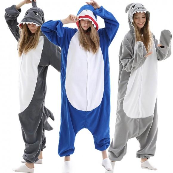 Shark Onesie Pajamas Animal Pajamas for Women & Men