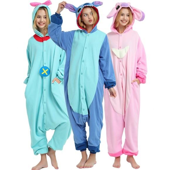 Stitch Onesie Pajamas Animal Onesie Pajama For Adult