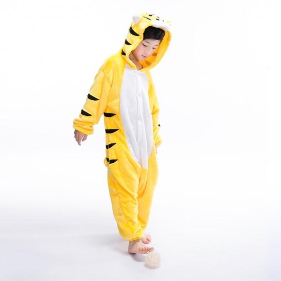 Tiger Kids Onesie animal pajamas for kids