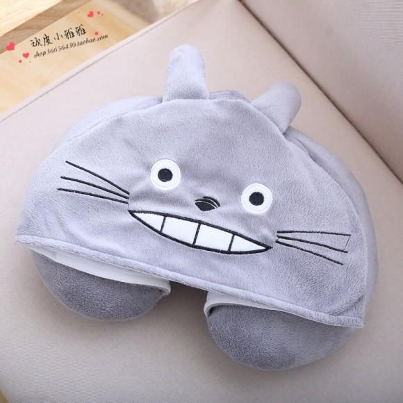 Totoro Neck Pillow For Women & Men