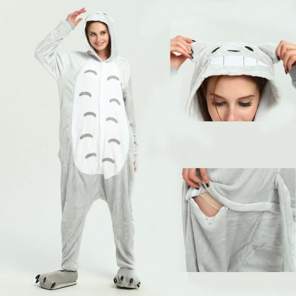 Totoro Onesie Pajamas Pajamas Costumes for Adult
