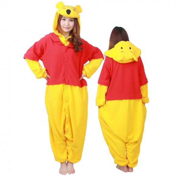 Winnie The Pooh Onesie Pajamas For Adult & Teens