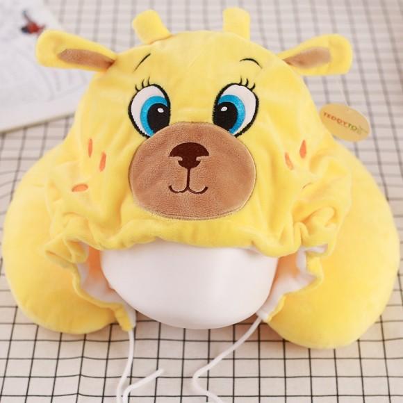 Yellow Deer Neck Pillow For Women & Men