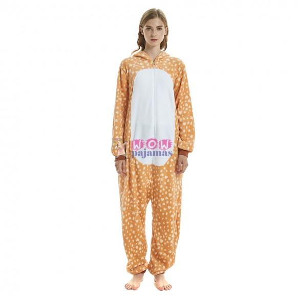 Yellow Deer Styling Onesies Pajama Animal Pajama For Women & Men