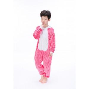 Pink Hello Kitty Cat animal kigurumi onesie pajamas for kids