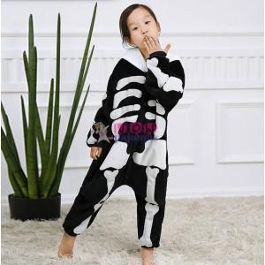 Baby Style Cute Skeleton Onesie Skull pajamas For Kids