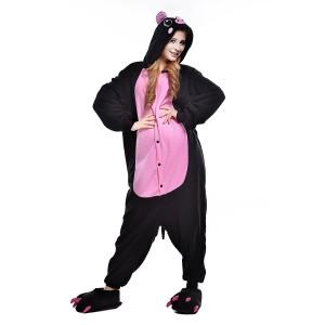 Black Pig Onesie for Adult Animal Onesies Pajama