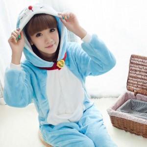 Kigurumi Doraemon Pajamas Animal Onesies Costume