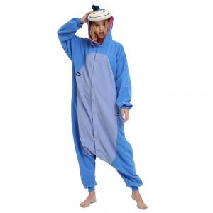 Unisex Blue Eeyore kigurumi onesies animal pajamas