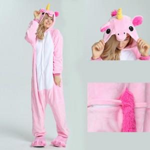 Unisex kigurumi Pink Pegasus onesies animal onesies pajamas