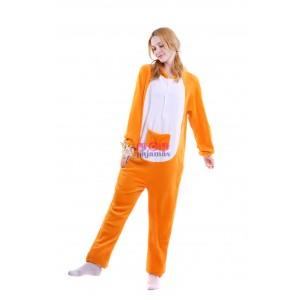 Unisex kigurumi Yellow Kangaroo onesies animal onesies pajamas