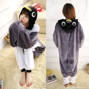 Penguin Onesie for Adult Animal Onesies Pajama