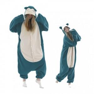 Pokemon Snorlax Onesie Pajama For Adult & Teens