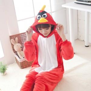 Kigurumi Red Angry Birds Pajamas Animal Onesies Costume