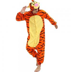 Tigger Onesie Pajama for Adult Animal Onesies